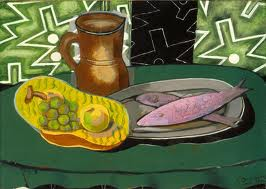 """Still Life with Pink Fish,"" 1937"