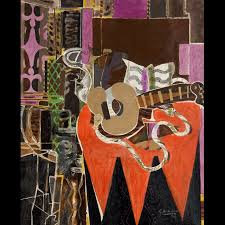 """Mandolin and Score (The Banjo),"" 1941"