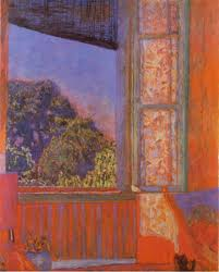 """The Open Window,"" by Pierre Bonnard, 1921"