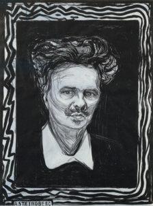Portrait, August Strindberg