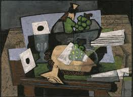 """Still Life with Grapes and Clarinet,"" 1927"
