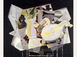 """Vase, Palette, and Mandolin,"" 1936"