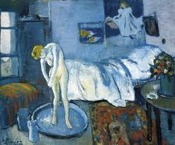 """The Blue Room,"" 1901, by Pablo PIcasso"