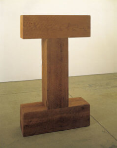 """Tao and Threshold,"" 1971, by Carl Andre"