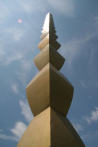 """Endless Column,"" 1918, Constantin Brancusi"