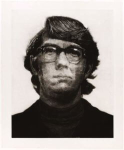 """Keith,"" 1972, by Chuck Close"