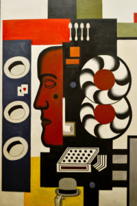 """""""Composition for Hand and Hats,"""" Fernand Leger,  1927"""