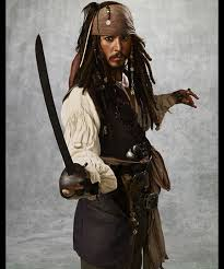 Jack Sparrow costume, 2011, by Penny Rose