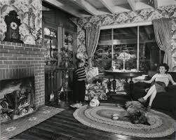 """Living Room on the Tracks, Lithia, VA, Debember 16, 1958,"" by O. Winston Link"