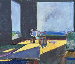 """Interior View of Ocean,"" 1957, by Richard Diebenkorn"