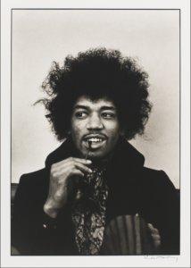 """Jimi Hendrix,"" by LInda McCartney, 1967"