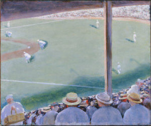 """World Series,"" by Arnold Friedman, undated, acquired 1938"