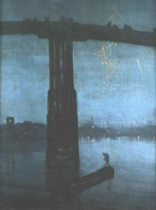 """Nocturne in Blue and Gold--Old Battersea Bridge,"" 1872-73"