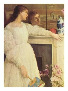 """Symphony in White, No. 2, The Little White Girl,"" 1864"