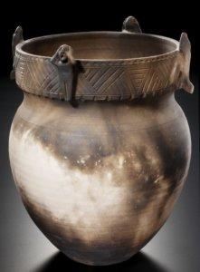 """""""9-11 Effigy Pot,"""" 2001, by Peter B Jones"""