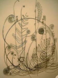 """Silver Bedhead,"" 1945-6, by Alexander Calder"