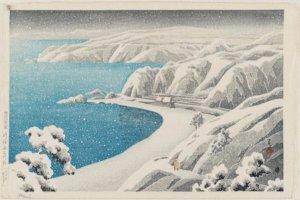 """Nishimikawazka, Sado Island,"" 1921"
