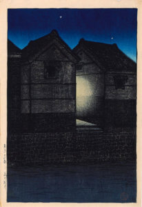 """Shinkawa at Night,"" 1919"