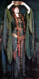 """Ellen Terry as Lady Macbeth,"" 1889"