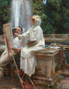 """Fountain, Villa Torlonia, Frascati, Italy,"" 1907"