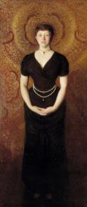 """""""Isabella Stewart Gardner,"""" 1888"""