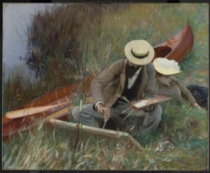 """""""An Out-of-Doors Study,"""" 1889"""