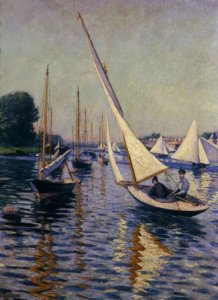 """Regatta at Argenteuil,"" 1893"
