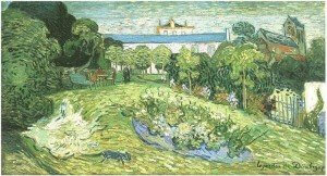 """Gardens at Daubigny,"" by Vincent Van Gogh"