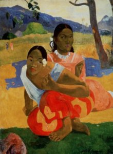 """Nafea faa ipoipo (When Will You Marry,"" by Paul Gaugin"