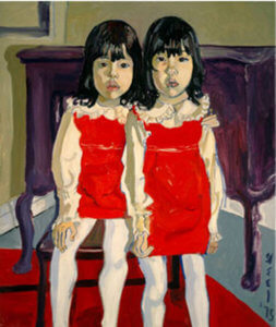 """The DeVegh Twins,"" by Alice Neel, 1975"