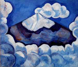 """Popocatepetl--Spirited Morning,"" by Marsden Hartley, 1932"