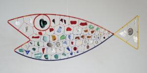 """Fish,"" 1944, by Alexander Calder"