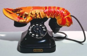"""Lobster Telephone,"" 1938 by Salvador Dali"