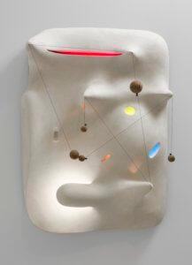 """""""Lunar Landscape,"""" 1943-44, by Isamu Noguchi"""