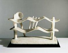 """Reclining Woman Who Dreams,"" 1929, by Alberto Giacometti"