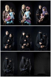 """Mother, Daughter, Doll,"" 2010, by Boushra Almutawakel"