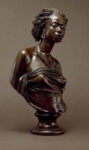 """""""African Venus,"""" 1851, by Charles Cordier"""