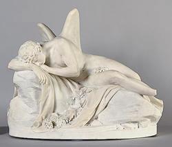 """""""Morpheus,"""" 1777, by Jean-Antoine Houdon"""