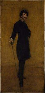 """""""James Abbott McNeil Whistler,"""" 1885"""