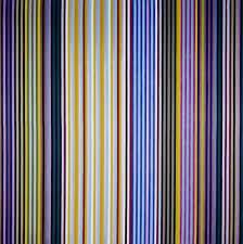 """Black Popcorn,"" 1965, by Gene Davis"