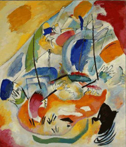 """Improvisation 31 (Sea Battle)"", 1913, by Wassily Kandinsky"