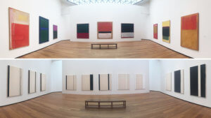 """Stations of the Cross,"" 1966, by Barnett Newman and Mark Rothko, Classic Paintings"
